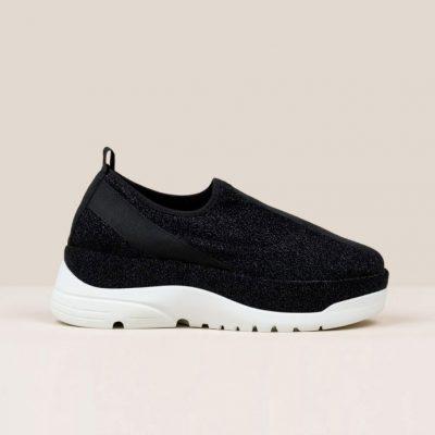 Gaimo Espadrilles – Guru Stretch Lurex Sneaker