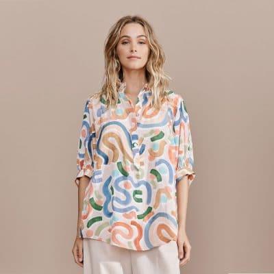 Layerd Vise Shirt – Maali Print