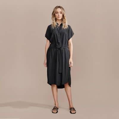 Layerd Ydin Dress – Coal