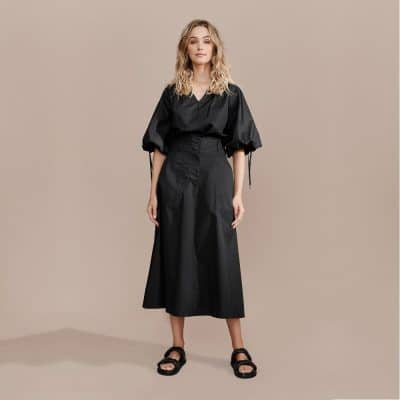 Layerd Ala Skirt – Pitch