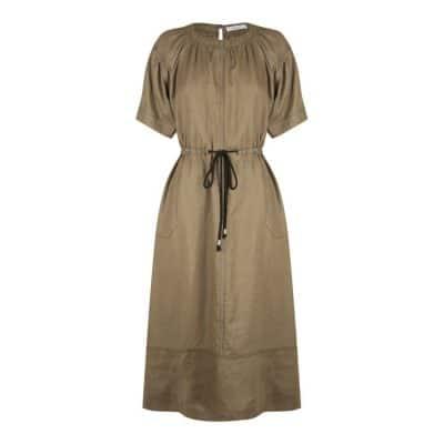 Morrison Sammy Linen Dress Mocha