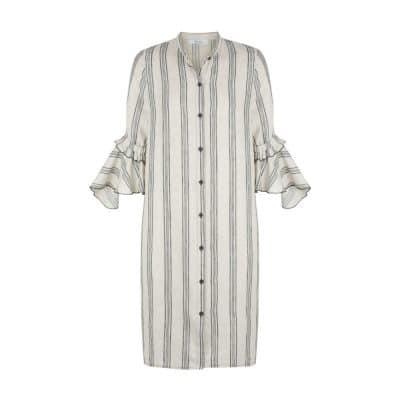 Morrison Tulah Linen Shirt Dress Stripe