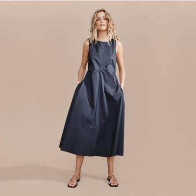Layerd Liike Dress – Deep Navy