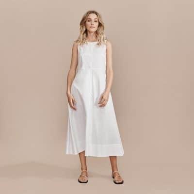 Layerd Liike Dress – Ivory